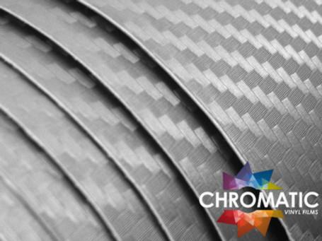 3D Carbon Fibre Silver Vinyl Wrap with ADT