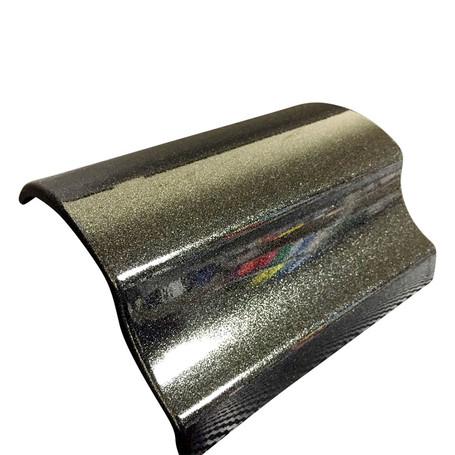 Black Glitter Gloss Vinyl with ADT