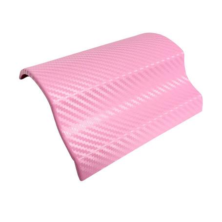 3D Carbon Fibre Pink Vinyl Wrap with ADT