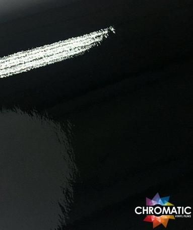 Gloss Black Vinyl Wrap with ADT