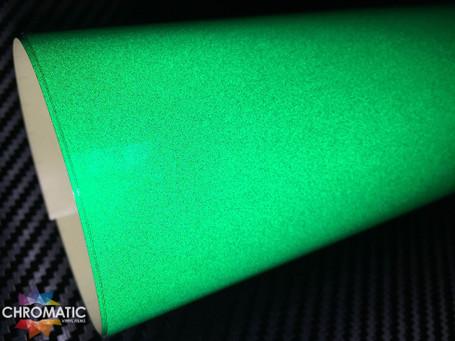 Green Reflective Safety Vinyl