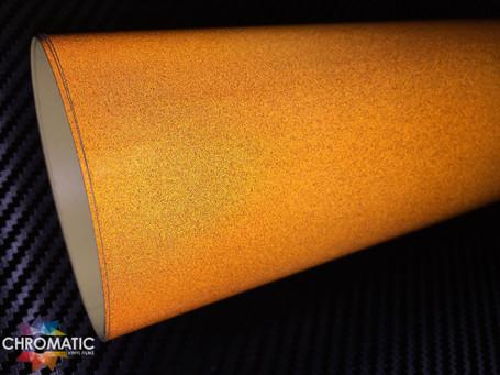 Copper Brown Reflective Safety Vinyl