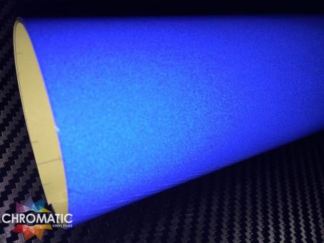Blue Reflective Safety Vinyl
