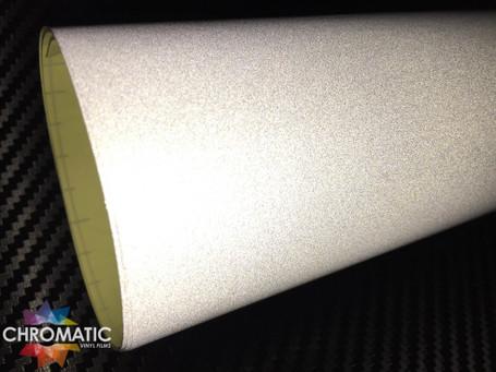 White Reflective Safety Vinyl