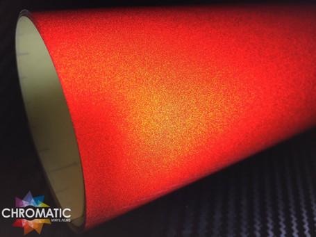 Red Reflective Safety Vinyl