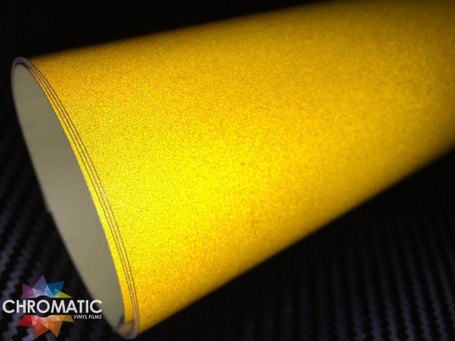 Yellow Reflective Safety Vinyl