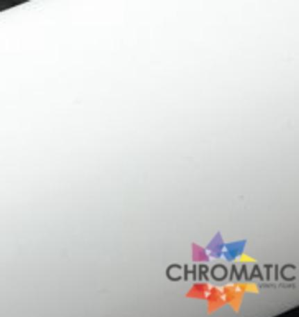 Matte White Vinyl Wrap with ADT