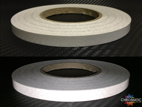 White Reflective Safety Tape - 1cm x 45.7m