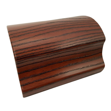 Distressed Mahogany Wood Vinyl Wrap