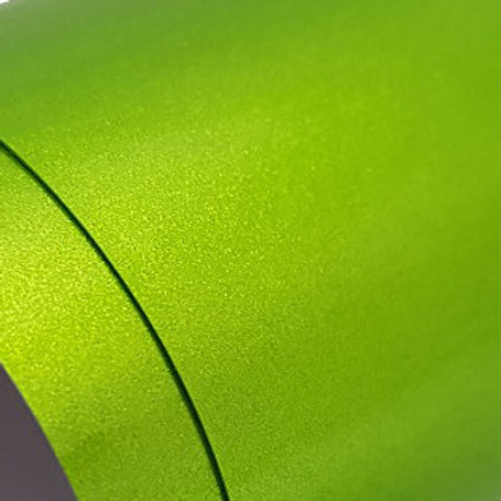 Gloss Metallic Lime Green Vinyl Wrap with ADT