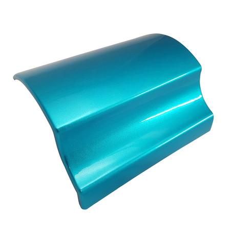 Gloss Metallic Baby Blue Vinyl Wrap with ADT