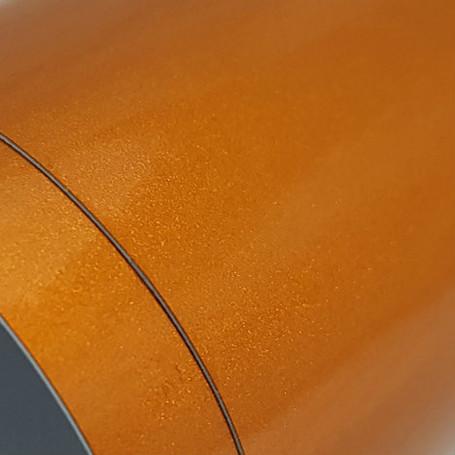 Gloss Metallic Burnt Orange Vinyl Wrap with ADT