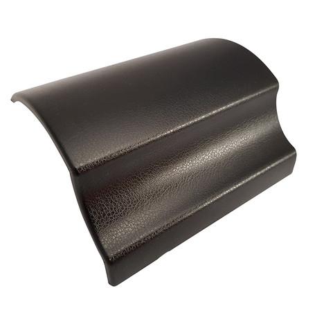 Black Leather Vinyl Wrap with ADT