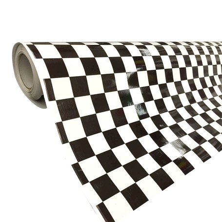Checkered Flag Vinyl Wrap with ADT