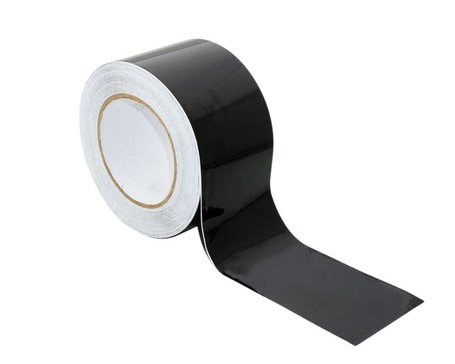 Gloss Black De-Chrome Vinyl