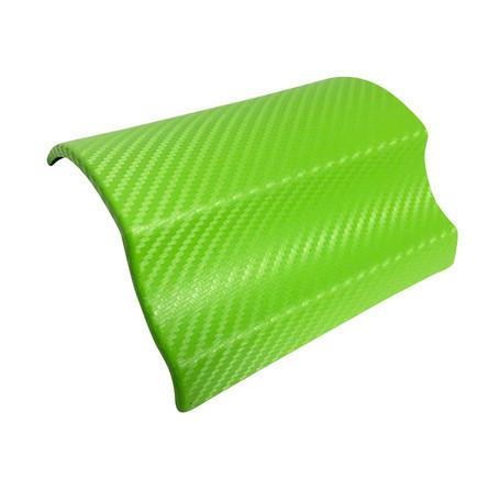 3D Carbon Fibre Green Vinyl Wrap with ADT