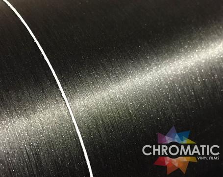 Brushed Black Metallic Vinyl Wrap with ADT