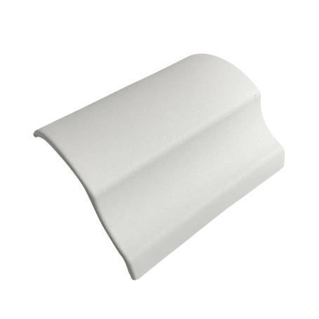 Diamond Sanding White Vinyl Wrap with ADT