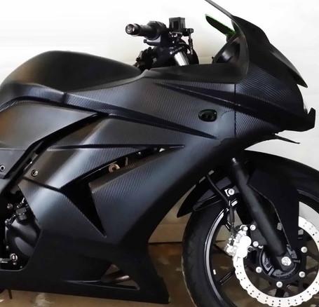 Carbon Fibre Wrap Bike Kit - 20 Colours