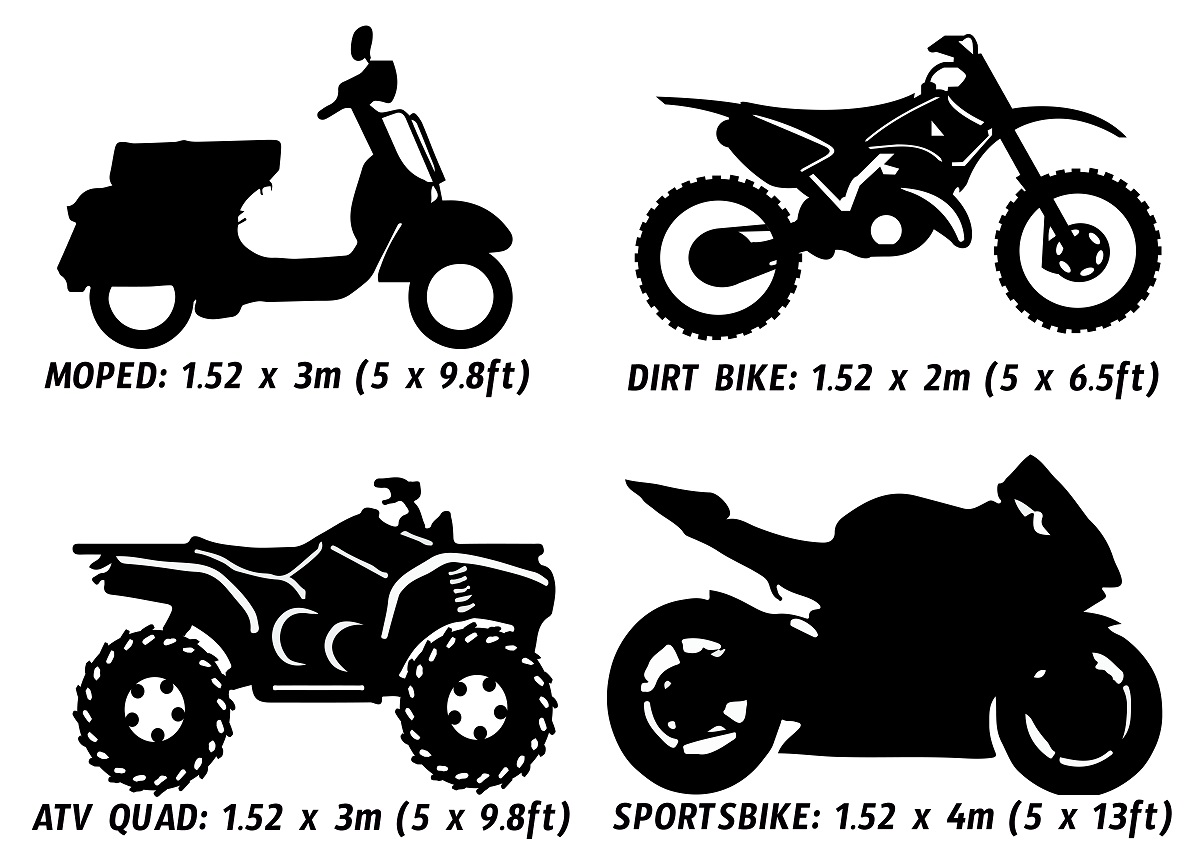 Motorcycle Wrap Kits now available in Moped & ATV sizes