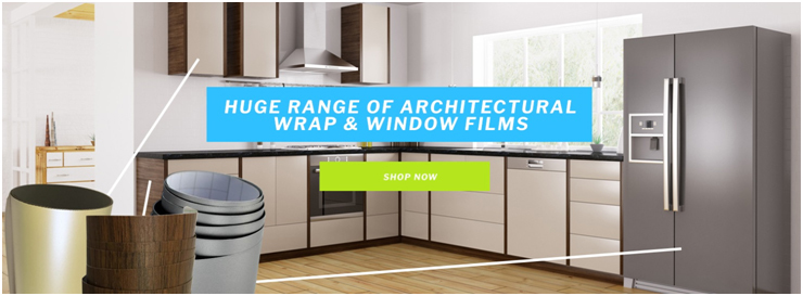 Save time and money with our new range of architectural wrapping vinyls