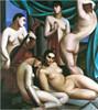 Level E Oil Paintings: 36X48