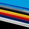 IRREGULAR  4mm Corrugated plastic sheets : 24x 36 :10 Pack 100% Virgin Black