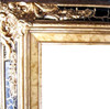 "4"" Ornate Wood Frames: 16X28"