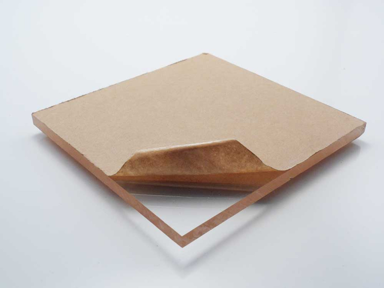 "Acrylic Plexiglass Clear Sheet thickness 0.118/""   20/"" x 20/"" 3mm thickness ."