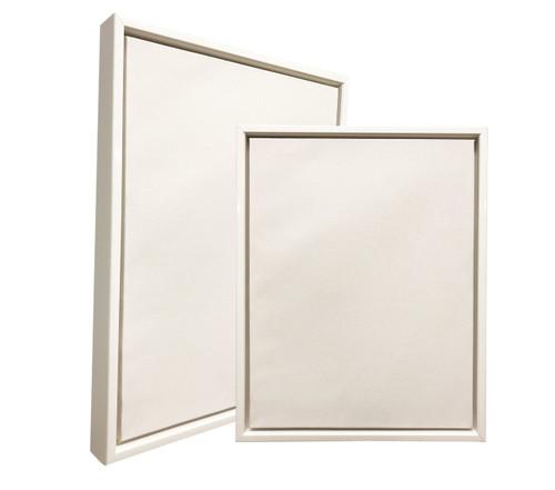 """2-1/8"""" Floater Frame Polystyrene Floating Picture frame 3592 : 8.5X11"""