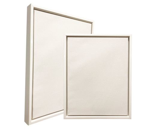 """2-1/8"""" Floater Frame Polystyrene Floating Picture frame 3592 : 10X10"""