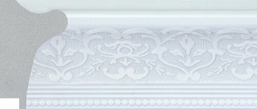 """2-1/2"""" Polystyrene Picture Frame 1556:  7X7"""