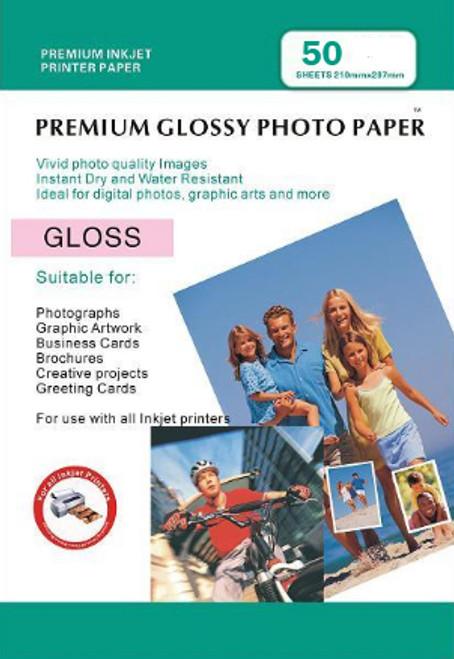 Digital Printing Photo Paper Sheets  50 PACK: 4X6
