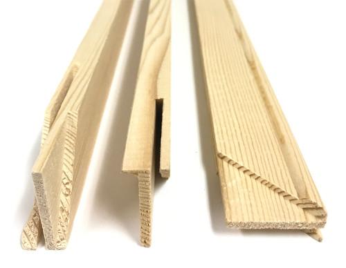 "3/4"" Deep Stretcher Bars 17"": Single Piece"