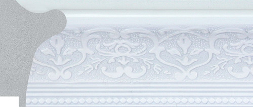 "2-5/8"" Picture Frame Moulding 1556-A1001: 4.675' Long"