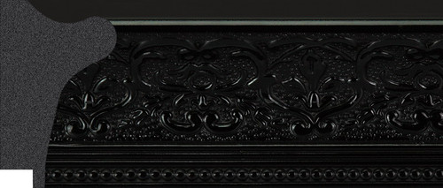"""2-5/8"""" Picture Frame Moulding 1556-A1007: 4.675' Long"""
