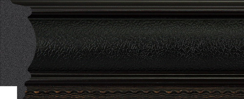 """2-1/2"""" Picture Frame Moulding 1194-II-06: 9.35' Long"""