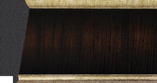 "3-1/4"" Picture Frame Moulding 1604-C7T: 9.35' Long"