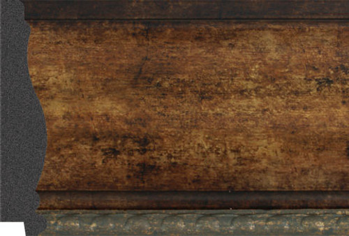 """4-1/2"""" Picture Frame Moulding 2254-748: 9.35' Long"""