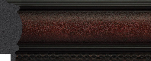 """2-1/2"""" Picture Frame Moulding 1194-II-22WB: sample"""