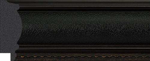 "2-1/2"" Picture Frame Moulding 1194-II-06: sample"