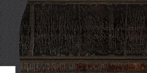 "3"" Picture Frame Moulding 1510-II-089: sample"