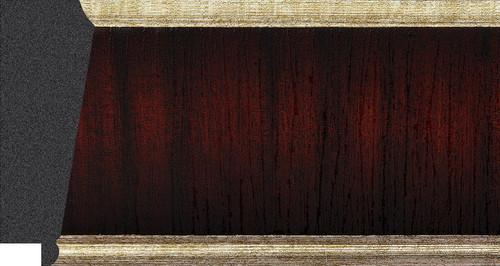 "3-1/4"" Picture Frame Moulding 1604-C2T: sample"