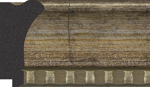 """3-1/2"""" Picture Frame Moulding 1972-V3211T sample"""