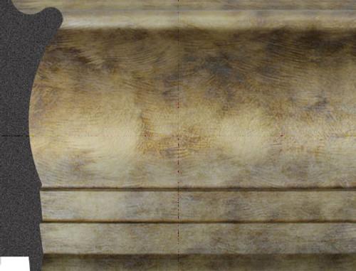 """4-1/2"""" Picture Frame Moulding 2167-740: sample"""