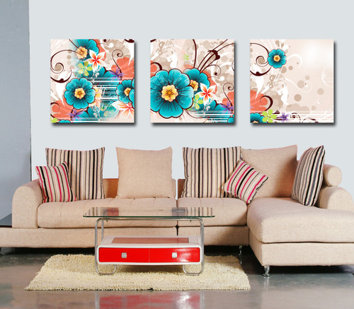 "Home Decor Giclee Canvas Print+3/4"" Gallery Stretching: 100% Cotton Canvas  : 36x48-Part6"