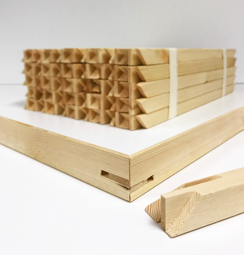 "1-1/2"" Deep Gallery Bars 20"": Single Piece"