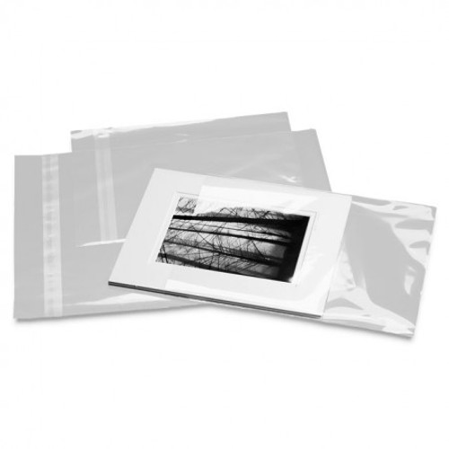 Clear Show Bags : 5 x 7 :100 Pack