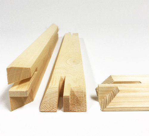 "2-1/2"" Deep Heavy Duty Bars 16"": Single Piece"