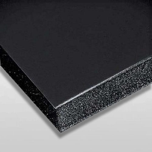 "3/16"" Black Buffered Foam Core Boards  :22 X 28"